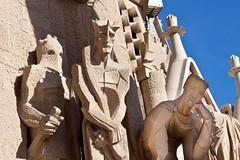 Sagrada Familia - Détails de la façade