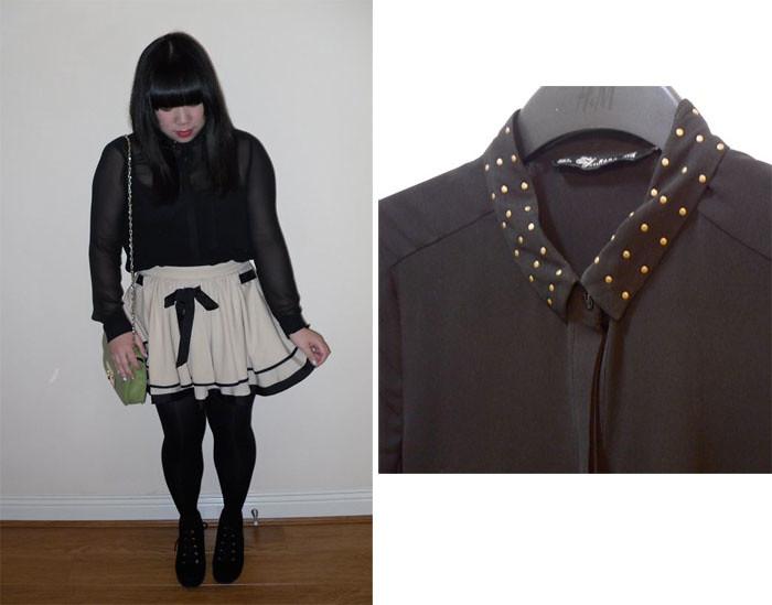 zara blouse copy