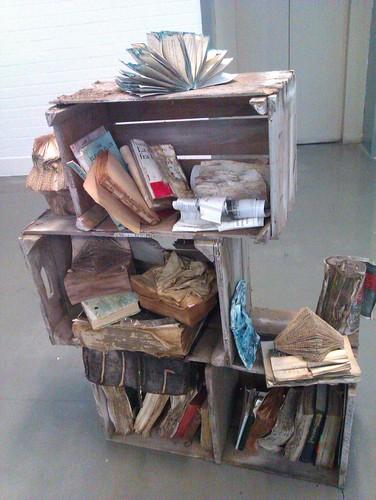 Reusing books as art 01