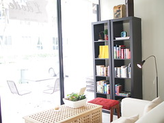 Bookshelf, L'etoile Cafe, Owen Road, Little India