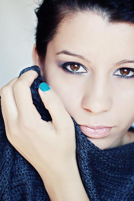 20. Brown eyes