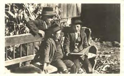Bambini  hassidici a Lodz, primi del 1900