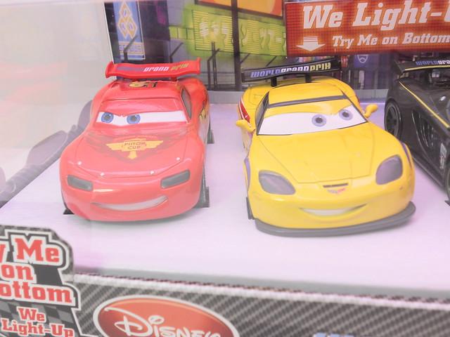 disney cars 2 disney store light up racers lightning jeff miguel lewis (2)