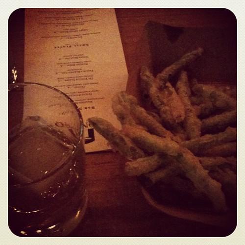 Rye & Fried Greenbeans