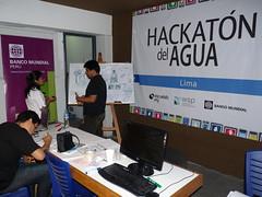 Maratón por el agua Water Hackathon Lima en ESCUELAB