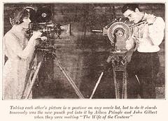 Aileen Pringle and John Gilbert