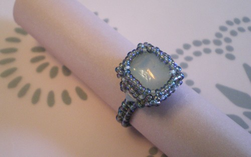 Victoria Faux Opal  Ring
