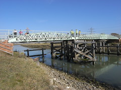Southease swing bridge