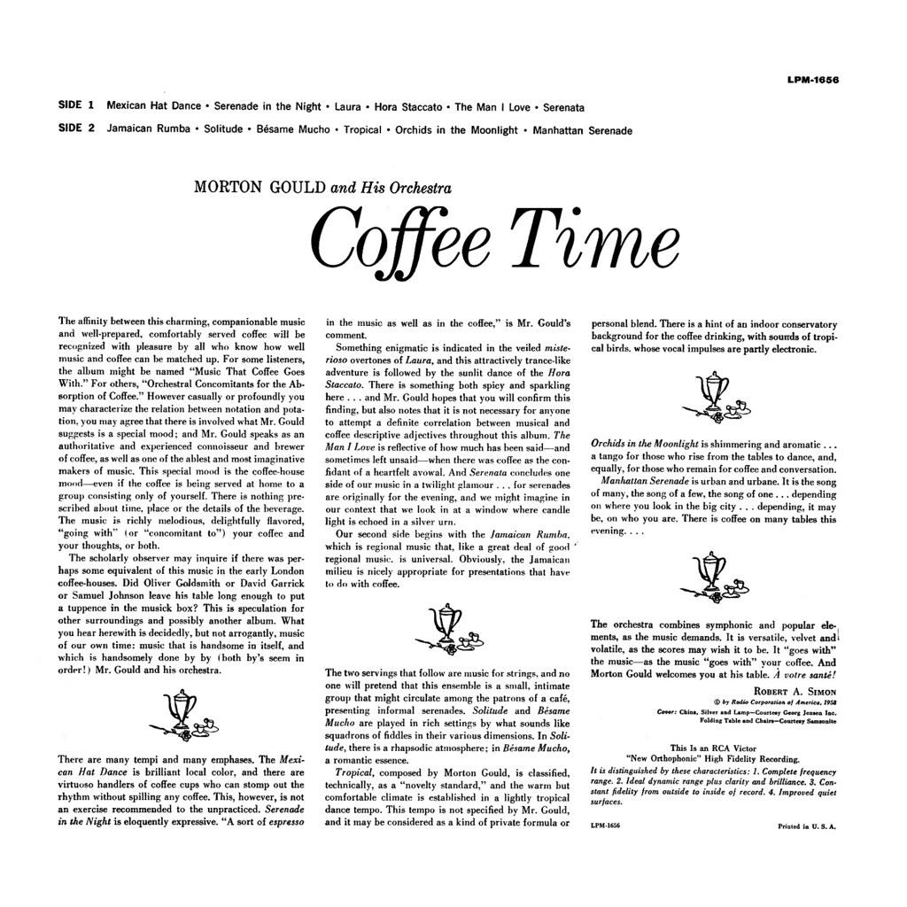 Morton Gould  - Coffee Time