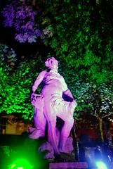 Purple Statue