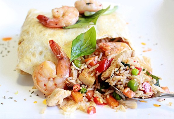 basil pattaya fried rice