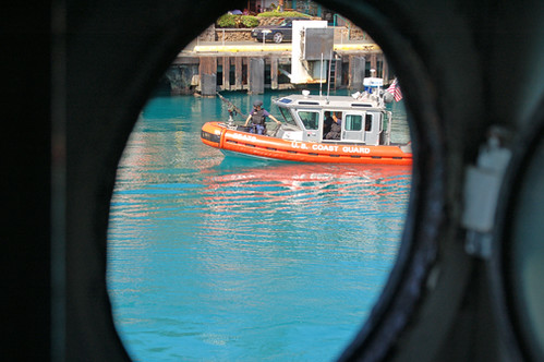 USCG through porthole