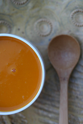 Cumin-Scented Hubbard Squash and Apple Soup 1