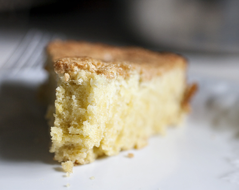 Lemon Basil Olive Oil Cake