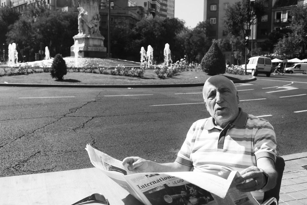 Ramón Trecet, entrevistado para Jot Down. Fotografía: Fermín de la Calle