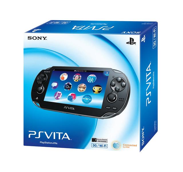 PlayStation Vita North America 3G packaging