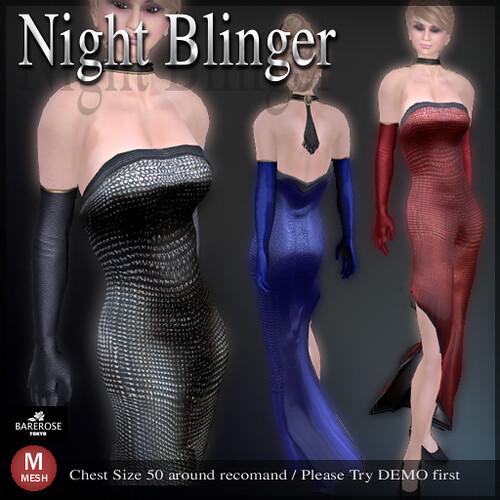 Night Blinger  by BareRose @ The Deck