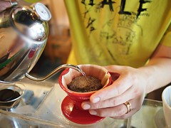 Yemen Mocha pour-over, Geisha Specialty Coffee, Burlington Square