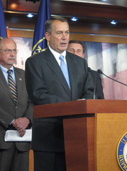 Boehner Discusses GOP Jobs Plans
