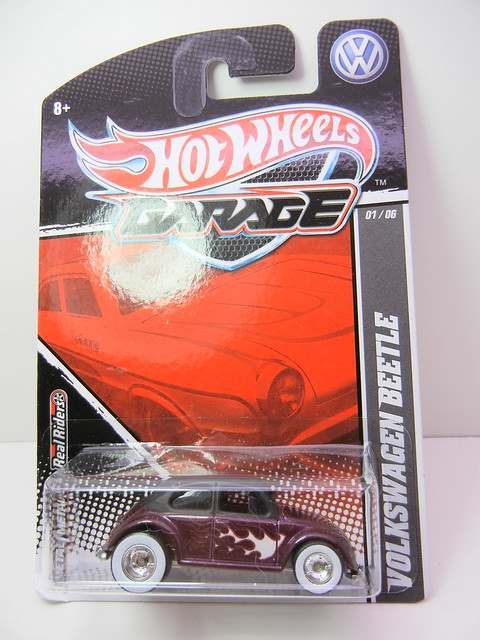hot wheels garage  volkswagen beetle (1)