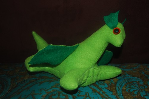 baby green dragon 2