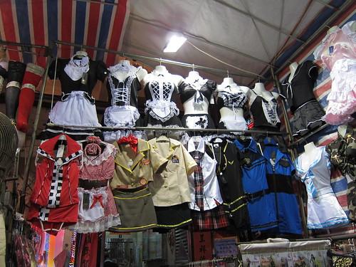 Slutty costumes galore