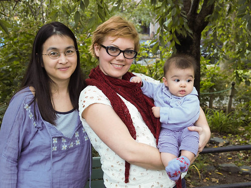 Connie, Olivia and I