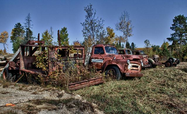 Rusty Trucks