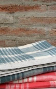 plaid merry baby blanket
