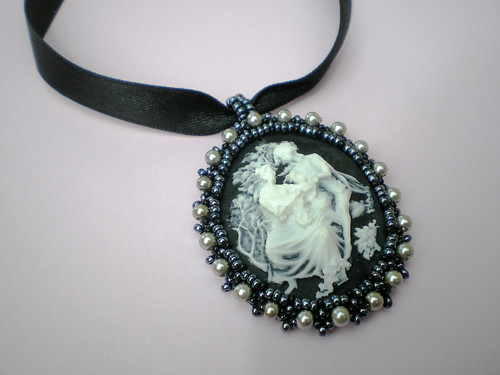 Blackwood Cameo Necklace