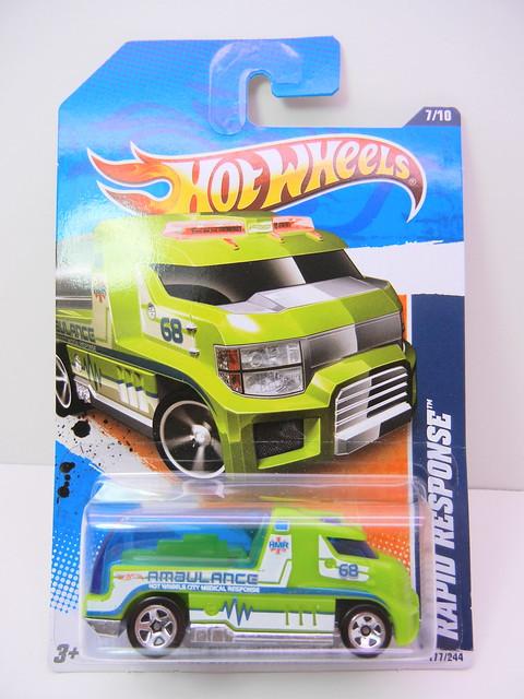hot wheels rapid response green