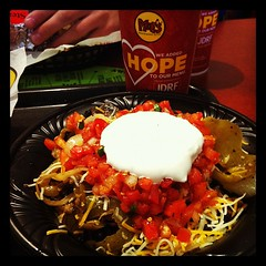 Loaded rice bowl @Moes_HQ roadtrip #relevant11