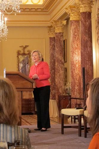 US Secretary of State Hillary Rodam Clinton
