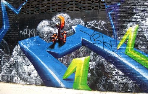 Graffiti LA too by dyannaanfang