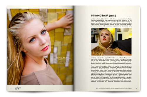Urban Noir Magazine, Issue 1 - Pgs. 5 & 6