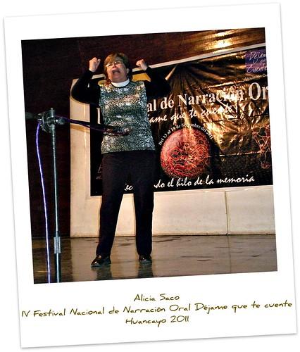 Alicia Saco velada en el auditorio de la Municipalidad