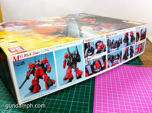 MG Rick Dias Quattro Custom RED Review OOB Build (2)
