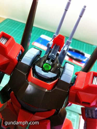MG Rick Dias Quattro Custom RED Review OOB Build (42)