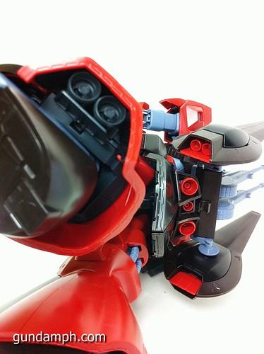 MG Rick Dias Quattro Custom RED Review OOB Build (57)