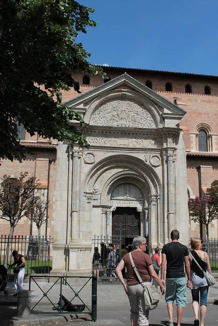 Basilique Saint-Sernin, Porte Miégeville