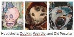 Oddkin Weirdie Peculiar Headshots