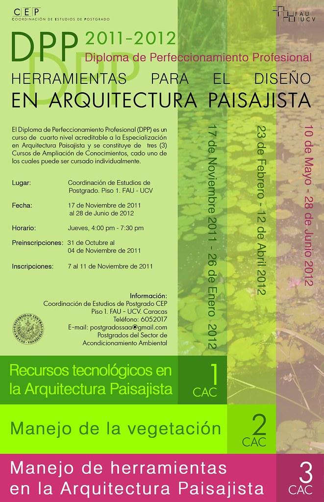 Diplomado en Arquitectura Paisajista