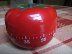 Pomodoro Kitchen Timer for Action Logging
