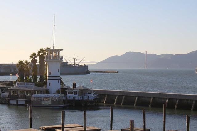 Golden Gate at distance