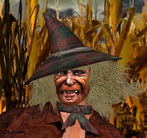 Hudson's - Scarecrow face