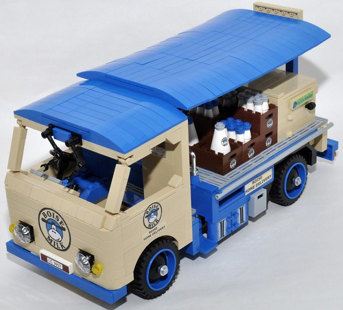 Milk float by Legogil
