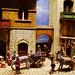Scena di vita nella San Gimignano del Trecento