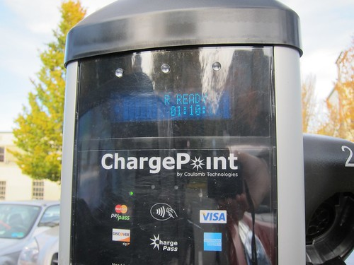 Charge Point display detail