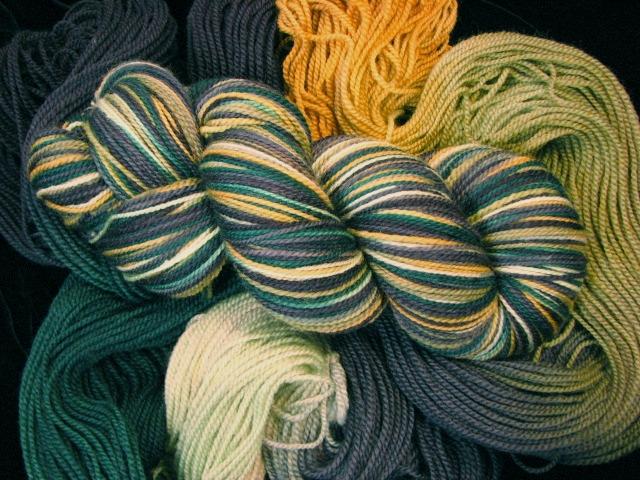 Pike's Peak - Tiger Twist Hand Dyed Sock Yarn