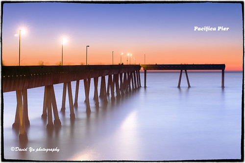 Pacifica Pier by davidyuweb